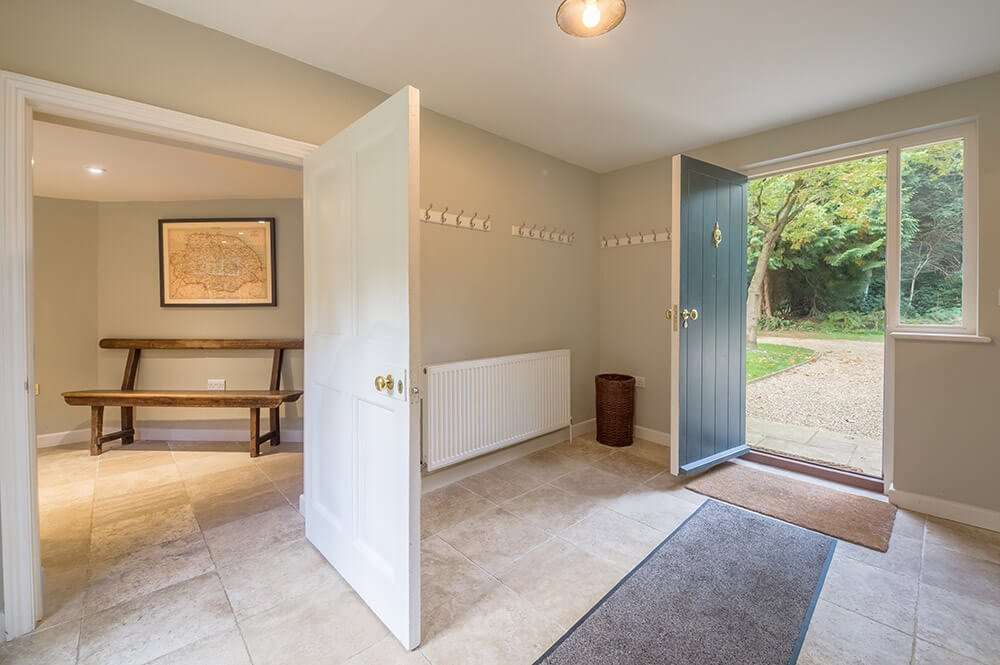 Bear's Cottage entrance