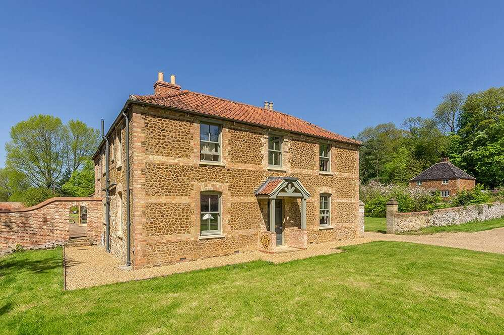Gardener's Cottage holiday accommodation is set within the walled garden at Fring