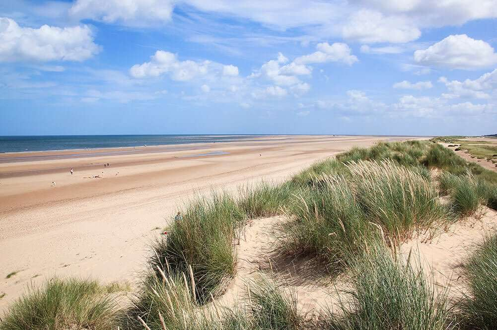 A beautiful classic North Norfolk sandy beach
