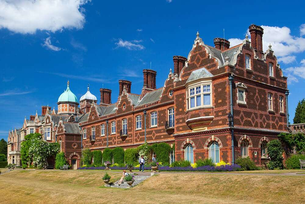 Visiting Sandringham in Norfolk