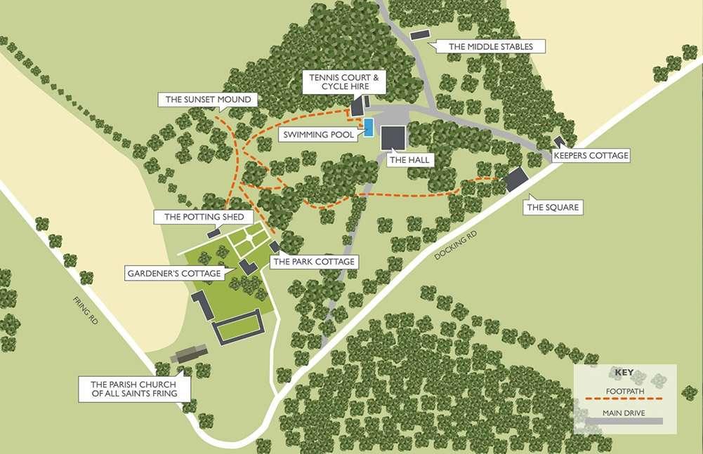 Fring Estate Map 2020