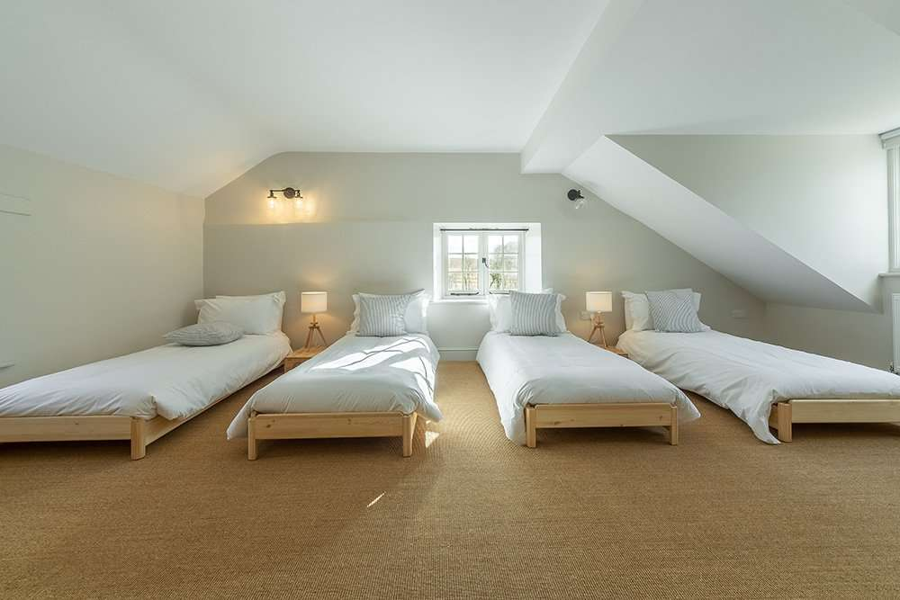 Bedroom at Market Square House is perfect for the children