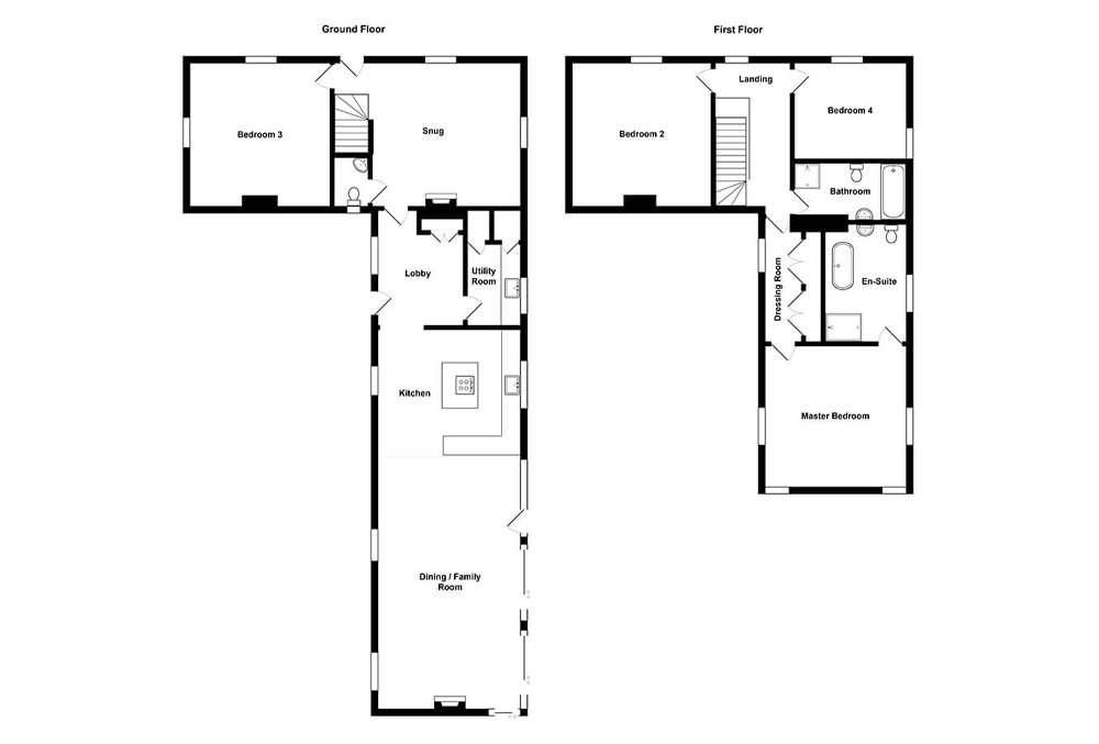Gardeners Cottage Floor Plan