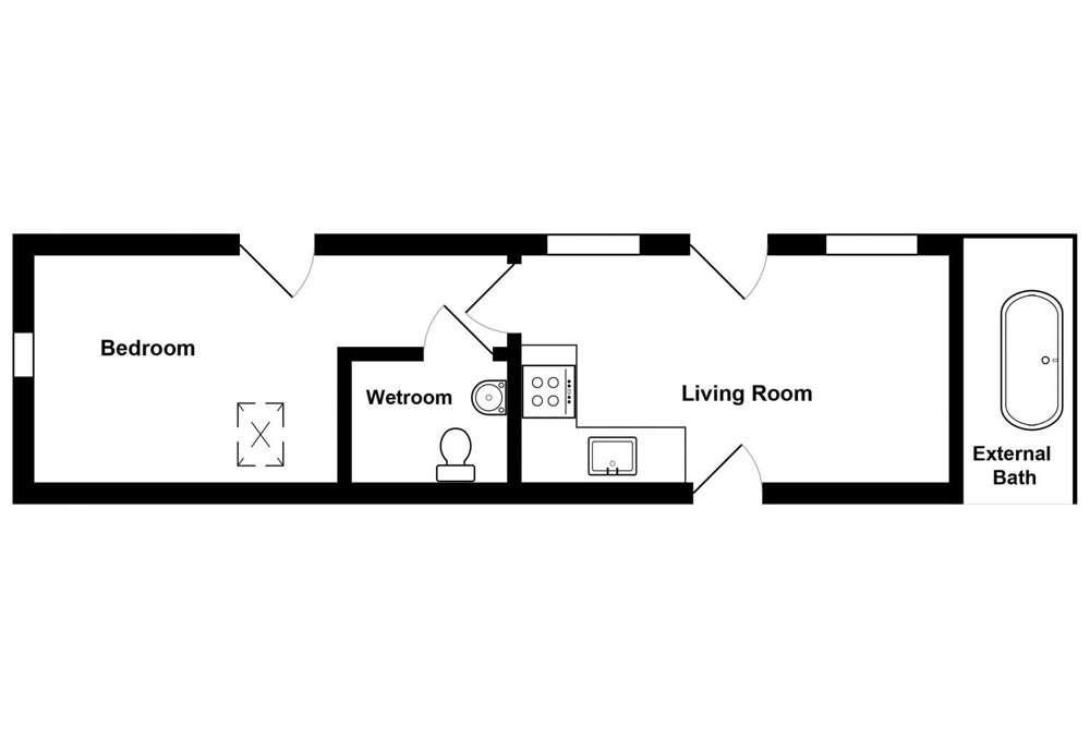 Little Potting Shed Floor Plan