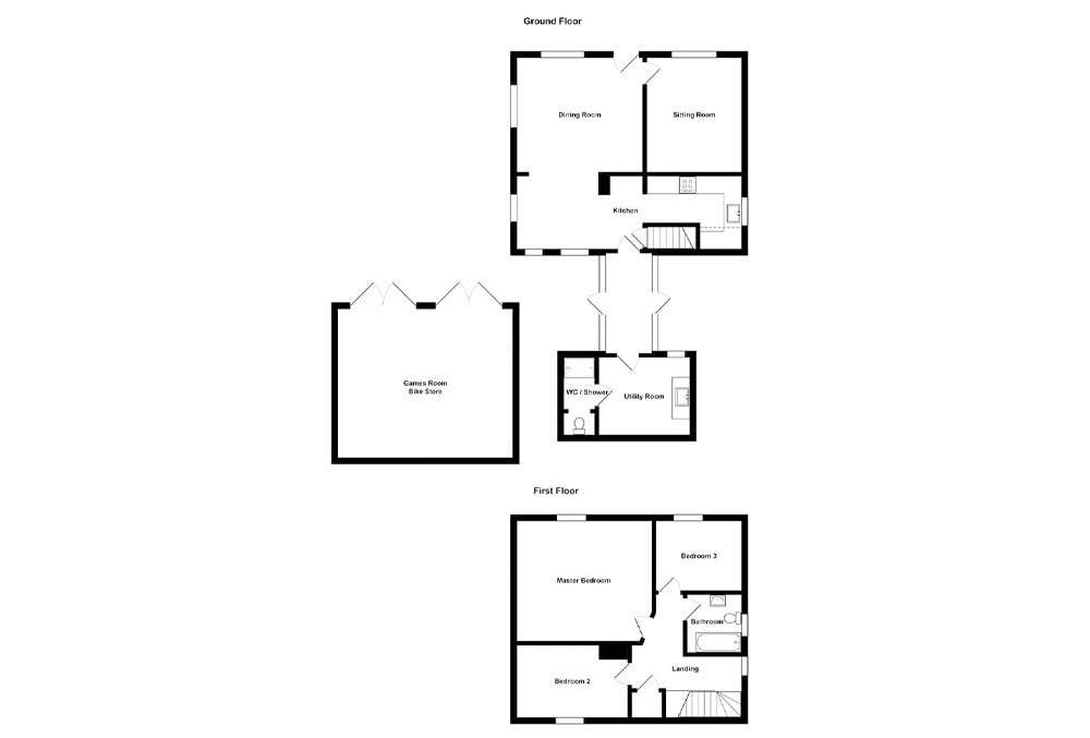 Park Cottage Floor Plan