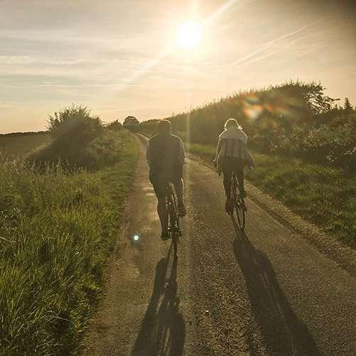 Cycling at Fring